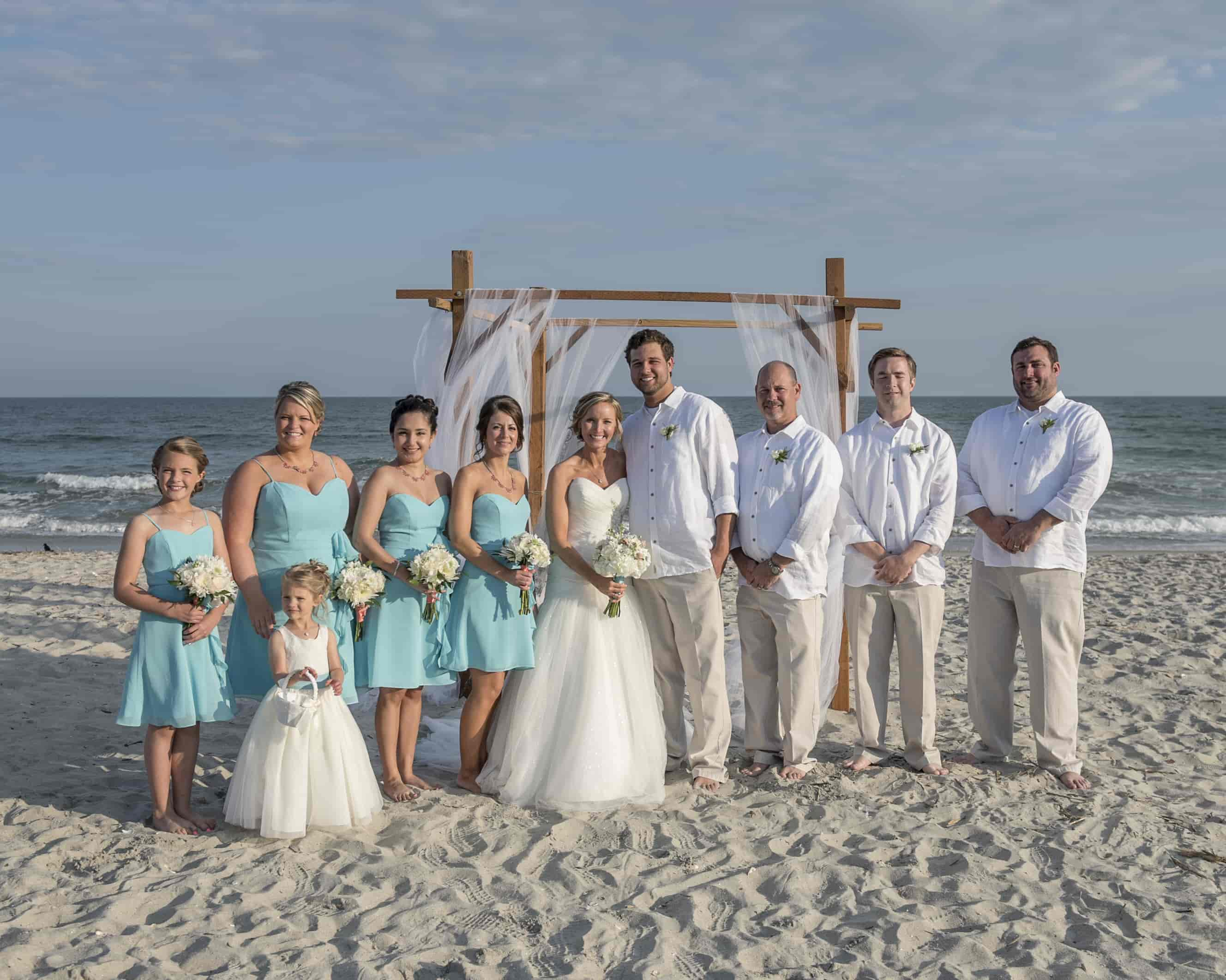 Wedding Package Lovely Beach Wedding